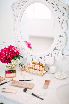 CLICK TO DOWNLOAD the Elegant Beauty Room Look Book for amazing #makeupvanity room décor and makeup organization inspired by Top #Beauty #Bloggers and those who love ALL THINGS BEAUTY. It is also a great resource for those who are either certified or an aspiring #mua for creative inspiration for both the #makeup room & living space.