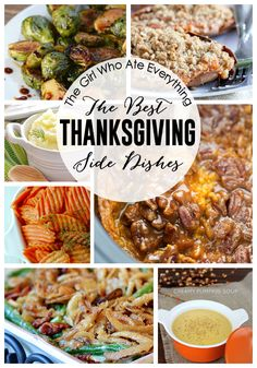 The Best Thanksgiving Side Dishes - the-girl-who-ate-everything.com