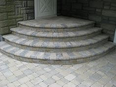 Sandstone and limestone mix. Idea for backyard path.