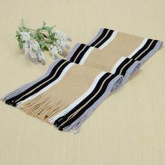Hirigin Classic Cashmere Stripe Scarves