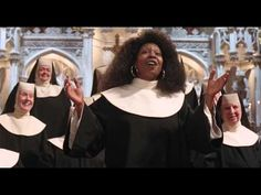 [Sister act] I will follow him (HD) (with lyric) http://www.youtube.com/watch?v=ghHE_kVWXxM or here without lyric, but louder: http://www.youtube.com/watch?v=VPpd-6X3tEo