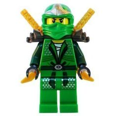 Brand New (Loose) Lego Ninjago Minifigure Lloyd - The Green Ninja! - Lloyd ZX (Green Ninja) with Dual Gold Swords - LEGO Ninjago Minifigure by LEGO. $53.43. Lloyd ZX (Green Ninja) with Dual Gold Swords - LEGO Ninjago MinifigureDimensions: 1 x 1 x 2 inches ; 1 ouncesDisclosure: Suggested age is 3 years and up Product may contain Small parts Not suitable for children under 3 yrs.