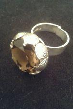 Finland Modernist Ring Kauppi Kupittaan Kulta Oy Sterling Silver Citrine UK