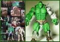 KING HULK Concept Design (Incredible Hulk) Custom Action Figure