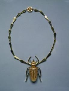 Necklace, John Paul Miller, USA: gold. c. 1953