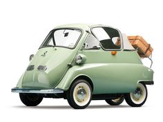 1956 BMW Isetta 'Bubble Window' Cabrio | The Bruce Weiner Microcar Museum 2013 | RM AUCTIONS
