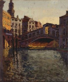 The Rialto Bridge, Venice - Walter Sickert