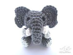 Amigurumi Crochet Elephant