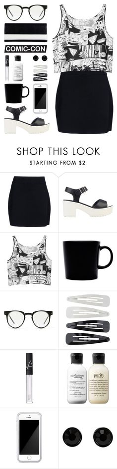 """Senza titolo #248"" by nafte ❤ liked on Polyvore featuring A.L.C., River Island, Monki, iittala, Spitfire, Forever 21, NARS Cosmetics, philosophy, Squair and Givenchy"