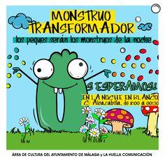 El Monstruo Transformador: actividad organizada por La Huella Comunicación para la Noche en Blanco.