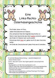 Bloghop zum Thema Ostern und Rechts-/Links-Orientierung