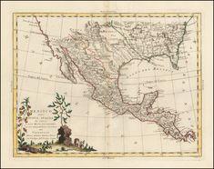 Zatta - 1785 - A Map of Louisiana and Mexico