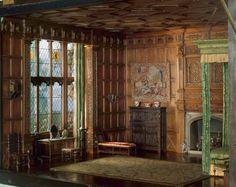 Miniature English Bedchamber of the Jacobean or Stuart Period, 1603-88