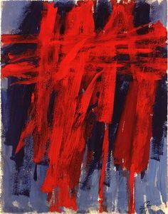"""Jack Tworkov, """"L.Pa. No.1"""" (1961, gouache, graphite, and watercolor)"""