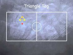 ▶ P.E. Games - Triangle Tag - YouTube