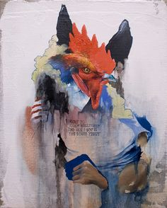 Joram Roukes, I am proud to have this in my art colection... Occupy Oil on canvas 24 x 30 cm 2012