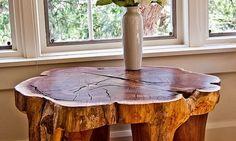 En Güzel Doğal Ağaç Masa Modelleri