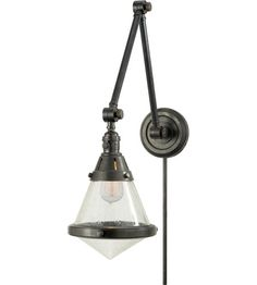 Visual Comfort Thomas OBrien Gale 1 Light Task Wall Light in Hand-Rubbed Antique Brass TOB2156HAB-SG | Visual Comfort Lighting Lights | Visu...