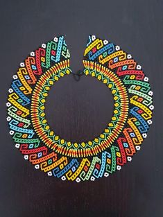 FAVONIR Colorful Assorted Beaded Necklace 12 Pack of Metallic Round Mardi Gras Costume Necklace Accessory 33 Inch 7 mm– for Events and Party Favor Novelty – Fine Jewelry & Collectibles Bead Loom Patterns, Beaded Jewelry Patterns, Beading Patterns, Seed Bead Necklace, Boho Necklace, Beaded Earrings, Seed Bead Art, Beadwork Designs, Loom Beading