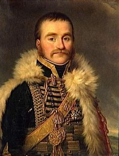 General of Cavalry Nicolas Dahlmann (1711-1807) was fatally wounded as he was leading the charge during the Battle of Eylau (Feb 1807). Dahlmann had joined the army at age 8 as a trumpeter. He rose steadily under Napoleon and fought in all major campaigns until his time of death. On Orders from Napoleon, Dahlmann's heart was embalmed and entombed at the Pantheon in Paris.