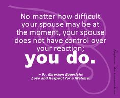 @Laura --- a bit of marital advice, even though you don't need it