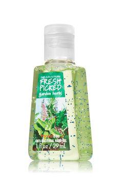Fresh Picked Garden Herbs Pocketbac Sanitizing Hand Gel - Anti-Bacterial - Bath & Body Works