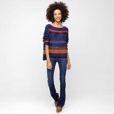 Compre Tricot Cantão Listras Pinceladas Marinho e Vinho na Zattini a nova loja de moda online da Netshoes. Encontre Sapatos, Sandálias, Bolsas e Acessórios. Clique e Confira!