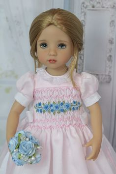 """Blond French Braid Wig Size 7-8 for Effner 13"""" Little Darling Dolls  #Unbranded"""