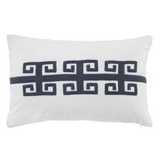 Ashley Amadeo Throw Pillow in Navy