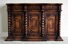 Old World Hand Painted Furniture Old World Dining Room Buffets