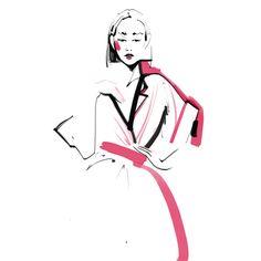 Fashion Illustration by Katerina Murysina