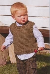 purl soho   products   item   lil' man vest (spud & chloe)