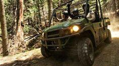 """New 2016 Kawasaki Mule Pro-FXâ""""¢ EPS ATVs For Sale in California. Destination Charge: $675.00 The Mule PRO-FXâ""""¢ EPS Side x Side has Electric Power Steering that self adjusts to deliver the necessary steering assistance based on speed, while also damping kickback to the steering wheel. Cargo bed can fit a standard size 40 x 48 pallet with up to 1,000 lbs. of cargo capacity 812 cc three-cylinder engine with massive torque, impressive pulling power, and smooth acceleration to tow heavy loads…"""
