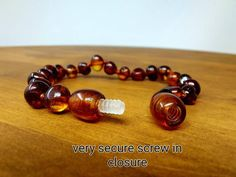 Baltic amber bracelet / natural healing stone bracelet / amber | Etsy Baltic Amber Necklace, Amber Bracelet, Love Bracelets, Stone Bracelet, Fashion Bracelets, Fashion Necklace, Bangle Bracelets, I Love Mexico, Amber Beads