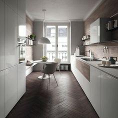 Opera3B + Valcucine Le lamine PVC Free rivestono la cucina Forma ...