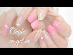 TUTO Pose ongles Gel UV Capsules French Couleur toute seule - Cristal Cos - YouTube