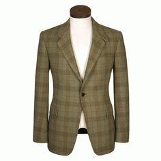 Understanding British Tailoring (advanced) Odd jacket by Huntsman & Sons, Savile Row