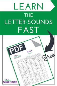 Save instructional time by teaching letter sounds in the context of real words. The activity Build It accelerates beginning readers rapidly. #lettersounds #decoding Teaching Letter Sounds, Teaching Letters, Teaching Phonics, Teaching Reading, Reading Activities, Guided Reading, Preschool Activities, Reading Strategies, Reading Skills