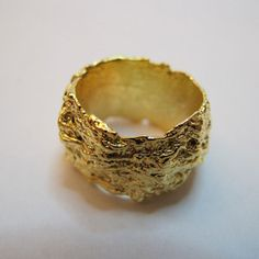 Nest Ring Gold-Plate now featured on Fab.