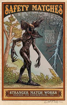 Austin, TX-based illustrator Chet Phillips created an awesome series of vintage-style Matchbox Art illustrations featuring movie monsters Room Posters, Poster Wall, Poster Prints, Matchbox Art, Photocollage, Photo Wall Collage, Sign Printing, Horror, Art Series