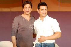 What's brewing between Aamir Khan, Shah Rukh Khan? http://www.wishesh.com/bollywood/bollywood-hot-gossips/40059-whats-brewing-between-aamir-khan-shah-rukh-khan.html  Aamir Khan and Shah Rukh Khan are not the best of friends for sure. But they seem to be much less than friends going by Bollywood gossips.