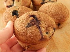 Blueberry muffins 3 smart points