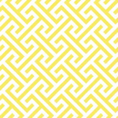 Cross Your T's - Fabric by the Yard - Lemon # yellow