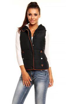 Toppaliivi - Naisten muotia netistä | Chooz.fi Bomber Jacket, Vest, Jackets, Fashion, Down Jackets, Moda, Fashion Styles, Bomber Jackets, Jacket
