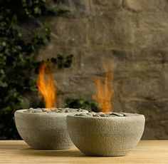 Bold Beautiful Brainy - A Life Well Lived: Project 1: Rock + Bowl + Flame ( 31 DIY Projects for Busy Gals) http://b3hd.blogspot.com/2011/10/project-1-rock-bowl-flame-31-diy.html