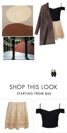 """""""stay with me among the strangers"""" by haomind ❤ liked on Polyvore featuring Moschino Cheap & Chic, New Look, Zero + Maria Cornejo, American Eagle Outfitters and statementcoats"""