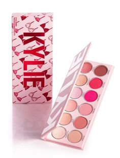 Shop eyeshadow palettes and sets at Kylie Cosmetics. The Kylie Jenner eye palettes are your secret weapon to create the perfect Kylie eye and recreate Kylie's favorite looks or customize your own. Maquillaje Too Faced, Kylie Valentine, Kylie Makeup, Kylie Jenner Makeup Products, Makeup Pallets, Matte Pink, Aesthetic Makeup, Makeup Collection, Makeup Cosmetics