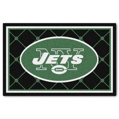 New York Jets Ultra Plush Area Rug