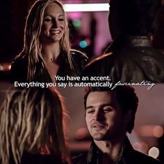 Caroline and Enzo | The Vampire Diaries