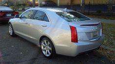 My Cadillac ATS fresh off the dealer lot.